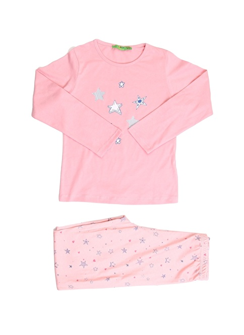 Limon Company Pijama Takım Pembe